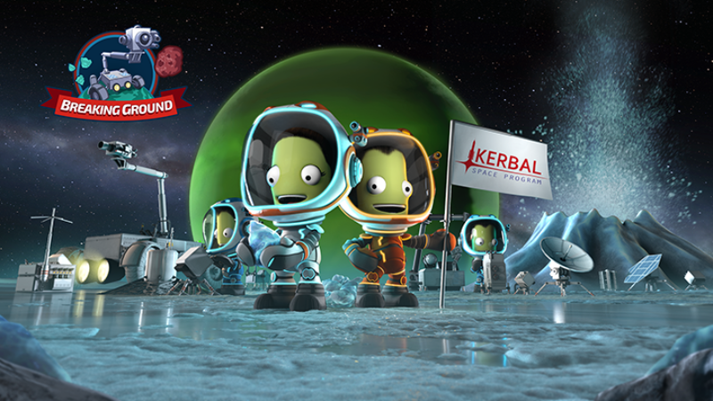 Kerbal Space Program Enhanced Edition: Breaking Ground Expansion est disponible sur PS4 et Xbox One