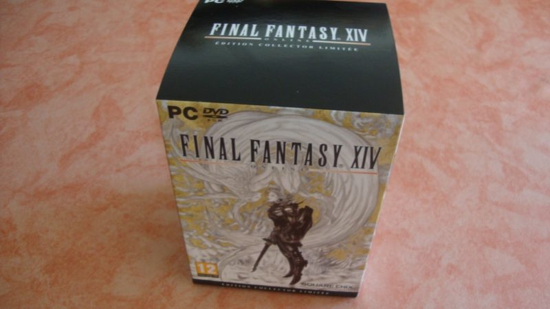 Déballage final fantasy XIV collector